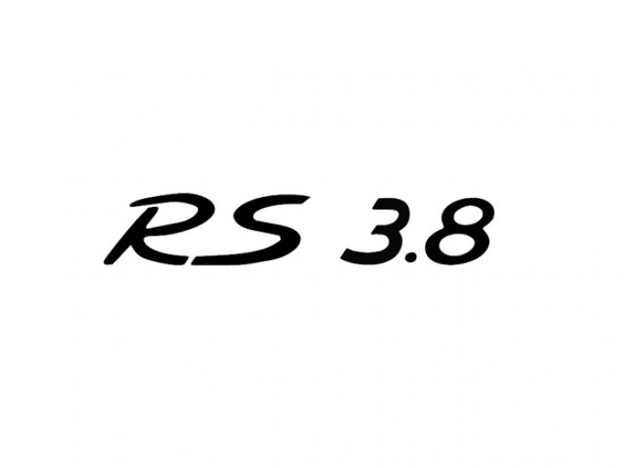 """RS 3.8"" Decal"