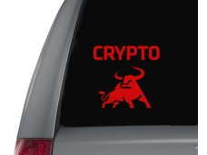 Crypto Bull  sticker