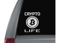 Crypto Life sticker