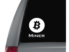 BitCoin Miner sticker