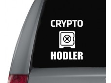 Crypto Hodler sticker
